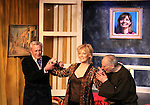 """Curtain Call - Bill Tatum (As The World Turns), Ellen Dolan (As The World Turns), Charles E. Gerber star in Moliere's """"Tartuffe"""" on opening night January 15, 2011 at the WorkShop Theatre, New York City, New York. (Photo by Sue Coflin/Max Photos)"""