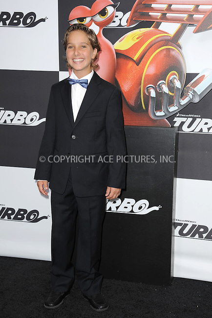 WWW.ACEPIXS.COM<br /> July 9, 2013...New York City <br /> <br /> Aaron Berger attending the DreamWorks Animation, in Association with 20th Century Fox Premiere of TURBO<br /> at AMC Loews Lincoln Square, New York, NY on July 9, 2013.<br /> <br /> Please byline: Kristin Callahan... ACE<br /> Ace Pictures, Inc: ..tel: (212) 243 8787 or (646) 769 0430..e-mail: info@acepixs.com..web: http://www.acepixs.com