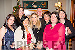 Party hats<br /> -------------<br /> Enjoying the Lee Strand Christmas party in the Meadowlands hotel, Tralee last Saturday night were L-R Noranne Scollard, Ciara Herlihy, Teresa Walker, Deirdre Doody, Laurance Cottor, Denise Fogarty, Siobhan Murphy and Mary Ann Dennehy.
