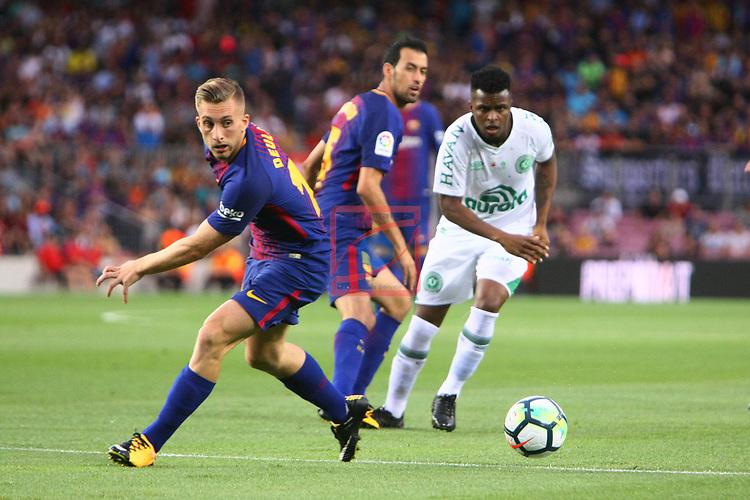 52e Trofeu Joan Gamper.<br /> FC Barcelona vs Chapecoense: 5-0.<br /> Gerard Deulofeu.