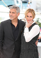 GEORGE CLOONEY AND JULIA ROBERTS - PHOTOCALL OF THE FILM 'MONEY MONSTER' AT THE 69TH FESTIVAL OF CANNES 2016