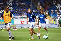 Peter Niemeyer (SV Darmstadt 98), Kevin Großkreutz (SV Darmstadt 98), Tobias Kempe (SV Darmstadt 98) - 29.07.2017: SV Darmstadt 98 vs. SpVgg. Greuther Fuerth, Stadion am Boellenfalltor, 1. Spieltag 2. Bundesliga