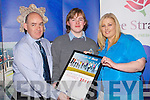 Mossie and Jennifer McGaley who helped their son Jack McGaley (CBS Tralee) to collect his Lee Strand Garda Youth Achievment Merit Award on Friday night in the Brandon Hotel, Tralee.....