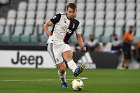 Matthijs de Ligt of Juventus in action during the Serie A football match between Juventus FC and US Lecce at Juventus stadium in Turin  ( Italy ), June 26th, 2020. Play resumes behind closed doors following the outbreak of the coronavirus disease. Photo Andrea Staccioli / Insidefoto