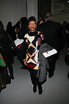 Celia Faussart of Les Nubians Attends Mercedes-Benz New York Fashion Week Autumn/Winter 2013 - Catherine Malandrino Presentation Held at Center 548, NY 2/10/13
