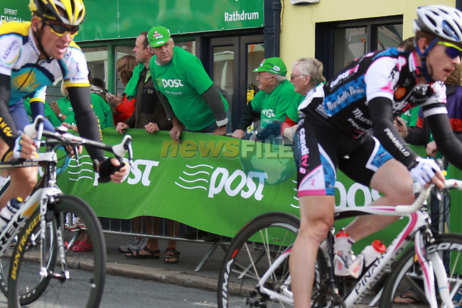 The peloton including Lance Armstrong (USA) Astana pass through Rathdrum Co.Wicklow during Stage1 of the 2009 Tour of Ireland, running 196km from the Ritz-Carlton Hotel Powerscourt, Enniskerry to Waterford, Ireland. 21st August 2009.<br /> (Photo by Eoin Clarke/NEWSFILE)