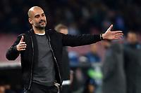 Josep Guardiola Manchester <br /> Napoli 01-11-2017 Stadio San Paolo Calcio Uefa Champions League 2017/2018 Group F Napoli - Manchester City Foto Andrea Staccioli / Insidefoto