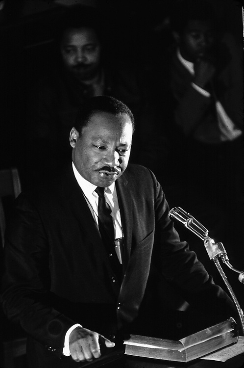 Martin Luther King Jr at pulpit in Alabama in undated photo by Jim Peppler. Copyright Jim Peppler all rights reserved. This and over 10,000 other images are part of the Jim Peppler Collection at The Alabama Department of Archives and History:  http://digital.archives.alabama.gov/cdm4/peppler.php