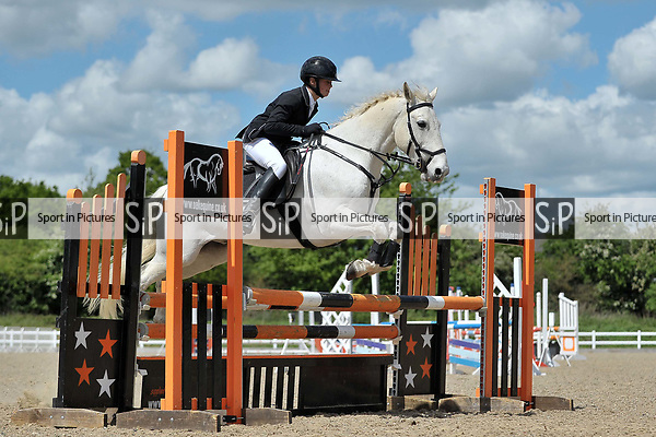 Class 3. Championship Qualifier. British Showjumping (BS) Juniors. Brook Farm training centre. Stapleford Abbotts. Essex. 14/05/2017. MANDATORY Credit Garry Bowden/Sportinpictures - NO UNAUTHORISED USE - 07837 394578