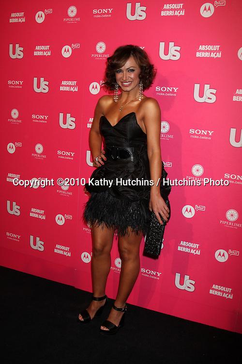 Karina Smirnoff.arrives at the US Weekly Hot Hollywood Party 2010.Drai's at the W Hotel Hollywood.Los Angeles, CA.April 22, 2010.©2010 Kathy Hutchins / Hutchins Photo...