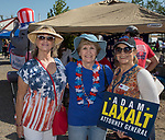Lynda Crossley, Betty Rumford and Mari Burns during the Basque Fry at the Corley Ranch  in Gardnerville, Nevada on Saturday, August 26, 2017.