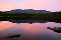 Sunset goes pastel as I take in Franconia Ridge over Lonesome Lake. A great shot from a great spot !