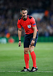 Referee Tasos Sidiropoulos in action during the champions league match at Stamford Bridge Stadium, London. Picture date 12th September 2017. Picture credit should read: David Klein/Sportimage