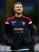 Bolton Wanderers' Jake Turner warming up before the match <br /> <br /> Photographer Andrew Kearns/CameraSport<br /> <br /> The EFL Sky Bet Championship - Bolton Wanderers v West Bromwich Albion - Monday 21st January 2019 - University of Bolton Stadium - Bolton<br /> <br /> World Copyright © 2019 CameraSport. All rights reserved. 43 Linden Ave. Countesthorpe. Leicester. England. LE8 5PG - Tel: +44 (0) 116 277 4147 - admin@camerasport.com - www.camerasport.com