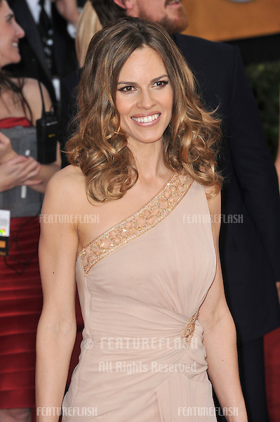 Hilary Swank at the 17th Annual Screen Actors Guild Awards at the Shrine Auditorium..January 30, 2011  Los Angeles, CA.Picture: Paul Smith / Featureflash
