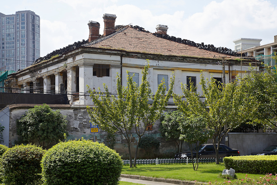 The Later (c1880) Consulate In Ningbo (Ningpo).  At The Time The Property Was Under Restoration, And Unfortunately Sits Within A PLA Compound To Which We Almost Obtained, But Were Ultimately Denied Access!