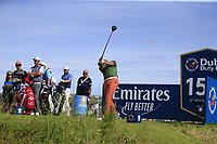 Ian Poulter (ENG) tees off the 15th tee during Thursday's Round 1 of the Dubai Duty Free Irish Open 2019, held at Lahinch Golf Club, Lahinch, Ireland. 4th July 2019.<br /> Picture: Eoin Clarke | Golffile<br /> <br /> <br /> All photos usage must carry mandatory copyright credit (© Golffile | Eoin Clarke)