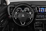Car pictures of steering wheel view of a 2017 Mitsubishi Outlander GT 5 Door SUV Steering Wheel
