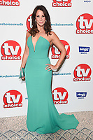LONDON, UK. September 10, 2018: Andrea McLean at the TV Choice Awards 2018 at the Dorchester Hotel, London.<br /> Picture: Steve Vas/Featureflash