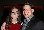 Laura Osnes & Jeremy Jordan.Behind the Scenes at the 2012 Tony Award-Meet The Nominees Press Reception at Millennium Broadway Hotel on May 2, 2012 in New York City. © Walter McBride/WM Photography .