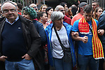 Catalan citizens come to vote during the referendum for the independence of Catalonia. October  1, 2017. (ALTERPHOTOS/Juan Carlos Rojas)
