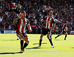 Billy Sharp of Sheffield Utd reacts after his goal was ruled out for offside during the English Championship League match at Bramall Lane Stadium, Sheffield. Picture date: August 5th 2017. Pic credit should read: Simon Bellis/Sportimage