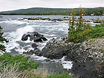 Crashing Waves In Eagle Harbor On A Cold Autumn Day, Michigan, Upper Peninsula, Lake Superior, USA : Low Res File - 8X10 To 11X14 Or Smaller, Larger If Viewed From A Distance
