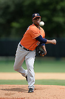 Houston Astros pitcher Francis Martes (28) during an Instructional League game against the Atlanta Braves on September 22, 2014 at the ESPN Wide World of Sports Complex in Kissimmee, Florida.  (Mike Janes/Four Seam Images)