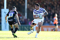 Anthony Perenise of Bath Rugby in possession. Gallagher Premiership match, between Exeter Chiefs and Bath Rugby on March 24, 2019 at Sandy Park in Exeter, England. Photo by: Patrick Khachfe / Onside Images