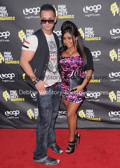 Mike The Situation & Snooki at the 2010 NewNowNext Awards held at The Edison in Los Angeles, California on June 08,2010                                                                               © 2010 Debbie VanStory / Hollywood Press Agency