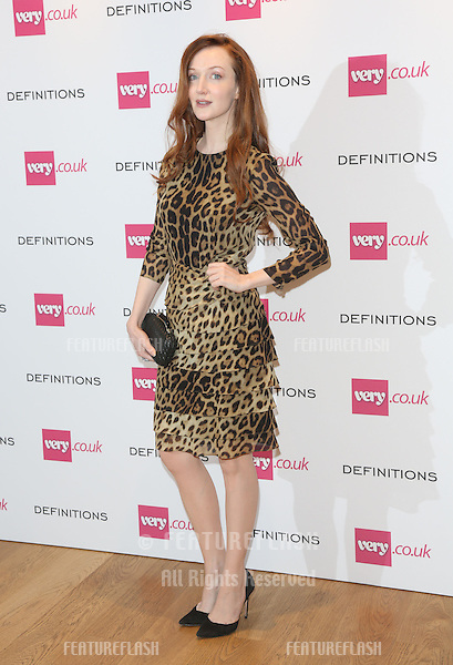 Olivia Grant at the Launch party for Very.co.uk introducing the new fashion brand Definitions at Somerset House<br /> London. 04/09/2013 Picture by: Henry Harris / Featureflash