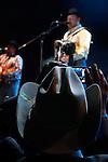 El grupo texano Intocable durante su presentación en el baile anual de la estación de radio la Mejor fm 98.5. Hermosillo, Sonora. 3,Sep,2012...Luis Gutierrez/NortePhoto