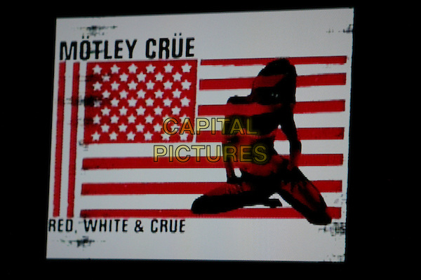 "MOTLEY CRUE POSTER.""Better Live Than Dead"" Tour Announcement and Press Conference held at the Palladium, Hollywood, California, USA, 07 December 2004..Ref: ADM.www.capitalpictures.com.sales@capitalpictures.com.©Zach Lipp/AdMedia/Capital Pictures ."