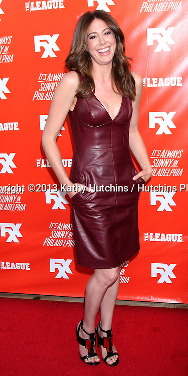 """LOS ANGELES - SEP 3:  Jackie Marcus Schaffer at the FXX Network Launch Party And Premieres For """"It's Always Sunny In Philadelphia"""" And """"The League"""" at the Lure on September 3, 2013 in Los Angeles, CA"""