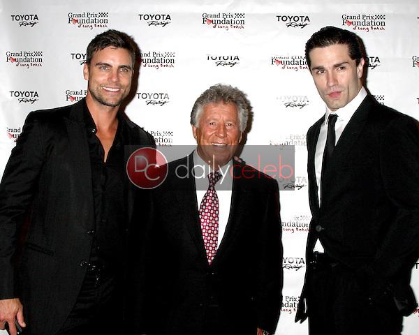 Colin Egglesfield, Mario Andretti, Sam Witwe<br /> at the Long Beach Grand Prix Foundation Gala, Westin Hotel, Long Beach, CA 04-11-14<br /> David Edwards/Dailyceleb.com 818-249-4998