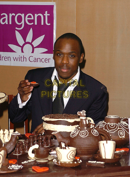 MOHAMMED GEORGE.The Chocolate Ball,.The Dorchester, London, England, .March 24th 2006..half length.Ref: CAN.www.capitalpictures.com.sales@capitalpictures.com.©Capital Pictures