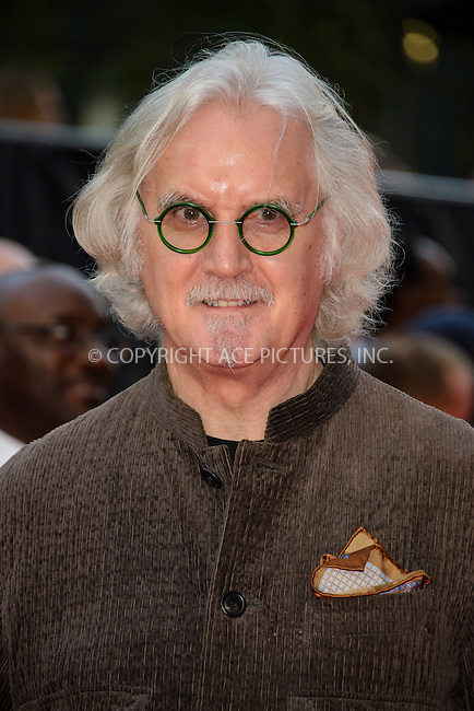 ACEPIXS.COM<br /> <br /> September 22 2014, London<br /> <br /> Billy Connolly arriving at the UK premiere of 'What We Did On Our Holiday' at the Odeon West End on September 22 2014 in London<br /> <br /> By Line: Famous/ACE Pictures<br /> <br /> ACE Pictures, Inc.<br /> www.acepixs.com<br /> Email: info@acepixs.com<br /> Tel: 646 769 0430