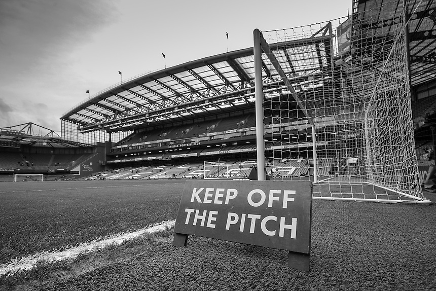 A general view of Stamford Bridge, home of Chelsea<br /> <br /> Photographer Craig Mercer/CameraSport<br /> <br /> Football - Barclays Premiership - Chelsea v Manchester United - Sunday 7th February 2016 - Stamford Bridge - London<br /> <br /> &copy; CameraSport - 43 Linden Ave. Countesthorpe. Leicester. England. LE8 5PG - Tel: +44 (0) 116 277 4147 - admin@camerasport.com - www.camerasport.com