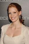 BEVERLY HILLS, CA. - November 02: Jessica Chastain arrives at the Decades Of Denim Launch Party at a private residence on November 2, 2010 in Beverly Hills, California.