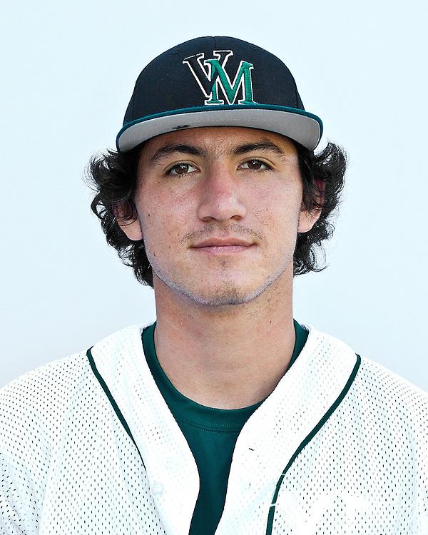 AJ Robinson  #35<br /> Junior: University of San Diego, San Diego, CA (Toreros)<br /> Home: Peoria, AZ.Position: OF<br /> Height/Weight: 6-1/190<br /> Bats/Throws: L/R