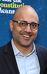 "Ayad Akhtar attending the Broadway Opening Night Performance of  ""What The Constitution Means To Me"" at the Hayes Theatre on March 31, 2019 in New York City."