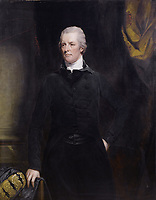FILE IMAGE - William Pitt the Younger (28 May 1759 – 23 January 1806) was a British politician of the late 18th and early 19th centuries. He became the youngest Prime Minister in 1783 at the age of 24. <br /> <br /> Painting by John Hoppner, before 1800.