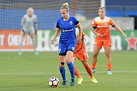 Frisco, TX - Sunday September 03, 2017: Beverly Yanez during a regular season National Women's Soccer League (NWSL) match between the Houston Dash and the Seattle Reign FC at Toyota Stadium in Frisco Texas. The match was moved to Toyota Stadium in Frisco Texas due to Hurricane Harvey hitting Houston Texas.