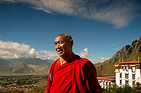 Once the largest monastic university in the world and home to as many as 10,000 monks, it is still the largest monastery in Tibet but with currently only about 800 monks in residence. During the Cultural Revolution from 1966-1976, the Chinese Army destroyed 6,000 monasteries and temples in Tibet..