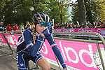 Evita Muzic (FRA) at the end of the Women Elite Road Race of the UCI World Championships 2019 running 149.4km from Bradford to Harrogate, England. 28th September 2019.<br /> Picture: Seamus Yore | Cyclefile<br /> <br /> All photos usage must carry mandatory copyright credit (© Cyclefile | Seamus Yore)