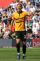 Mickey Demetriou of Newport County during Newport County vs Tranmere Rovers, Sky Bet EFL League 2 Play-Off Final Football at Wembley Stadium on 25th May 2019