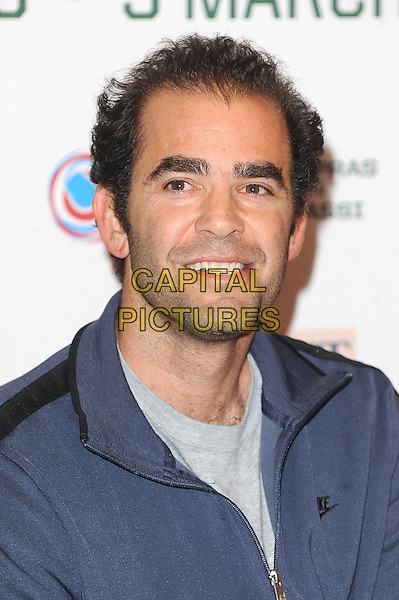 LONDON, ENGLAND - MARCH 3: Pete Sampras attends the World Tennis Day Showdown - press conference at The Athenaeum Hotel on March 3, 2014 in London, England<br /> <br /> CAP/BEL<br /> &copy;Tom Belcher/Capital Pictures
