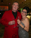 Sean Gill and Krystal Pinkston during Fantasies in Chocolate at the Grand Sierra Resort on Saturday night, November 17, 2018.