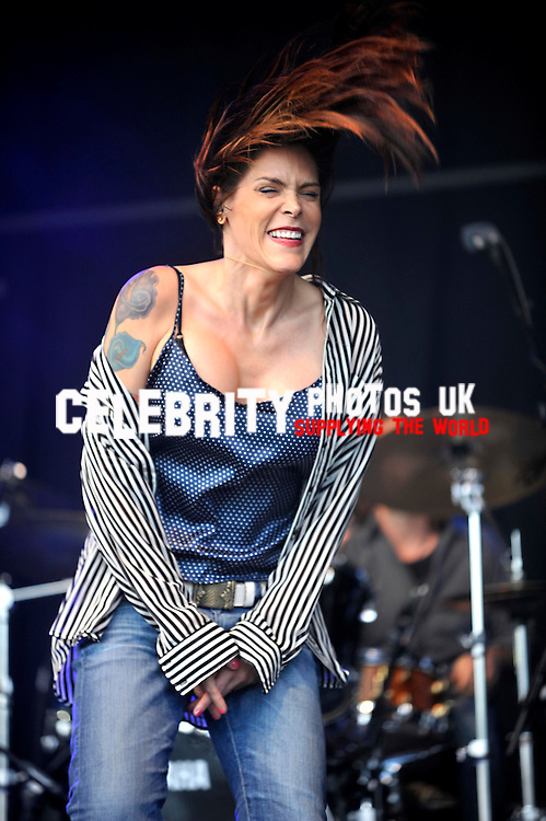 Beth Hart performs on stage at the Cornbury Festival the Great Tew Park Oxfordshire United Kingdom on June 30, 2012 Picture By: Brian Jordan / Retna Pictures.. ..-..
