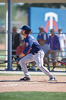 Minnesota Twins J.J. Robinson (17) during a Minor League Spring Training game against the Tampa Bay Rays on March 15, 2018 at CenturyLink Sports Complex in Fort Myers, Florida.  (Mike Janes/Four Seam Images)